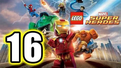 lego marvel super heroes walkthrough part  ps lets