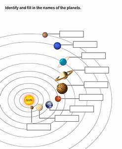 Solar System Worksheet 8 | Learn About The Nine Planets in ...