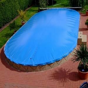 Poolabdeckung Für Winter : aufblasbare pool abdeckung f r ovalpool 700 x 350 cm ovalbecken ~ Markanthonyermac.com Haus und Dekorationen