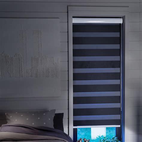 stores chambre store enrouleur jour nuit noir occultant moderne