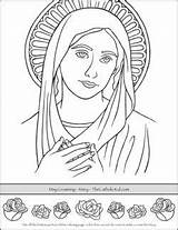 Crowning Coloring Bible Crafts Thecatholickid Saint sketch template