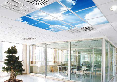 cuisine faux plafond fausses fenêtres faux plafonds lumineux seedertech