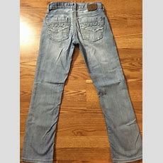 Bke Jeans From The Buckle Men's Aiden Straight Button Fly Size 27s Ebay