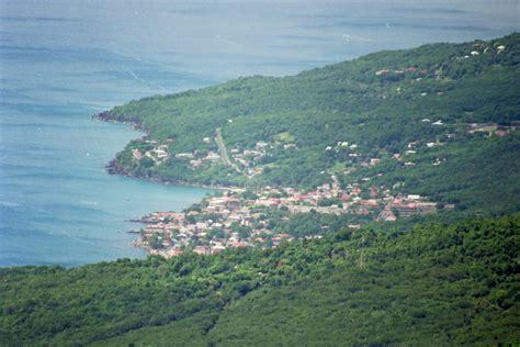 Photo à Pointe-Noire (97116) : Bourg de Pointe Noire vue de Morne a louis - Pointe-Noire, 6385 ...
