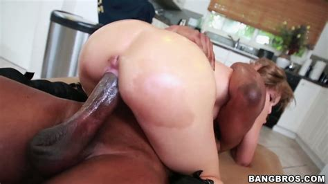 Just an enormously huge black cock pounds white coochie of ...