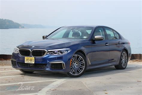 Bmw M550i Review by 2018 Bmw M550i Xdrive Review Web2carz