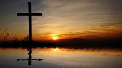Cross Background Jesus Religious Hope Believe Symbol