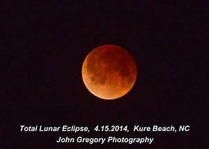 Total Lunar Eclipse from Kure Beach, NC | gregfoto@aol.com ...