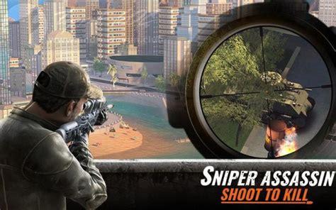 sniper  assassin  mod apk  elmas
