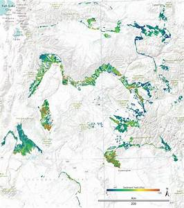 Map Of Soil Erosion Risk For The Mancos Shale Formation