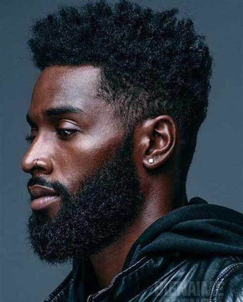 Coiffure Dégradé Homme Noir 201 Tonnamment Masculin Barbe Styles Pour Les Gars Hairstyles 2019 Gars Coiffure Homme Ve