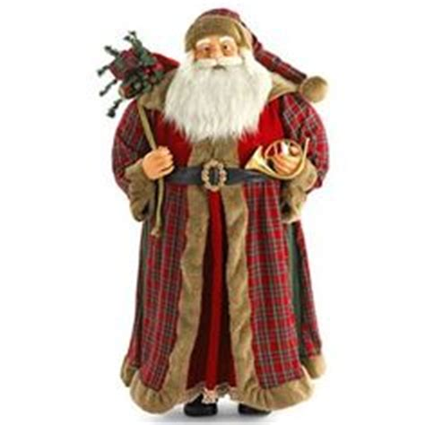 traditional santa claus ringing on 1000 images about santas on pinterest santa figurines figurine and father christmas