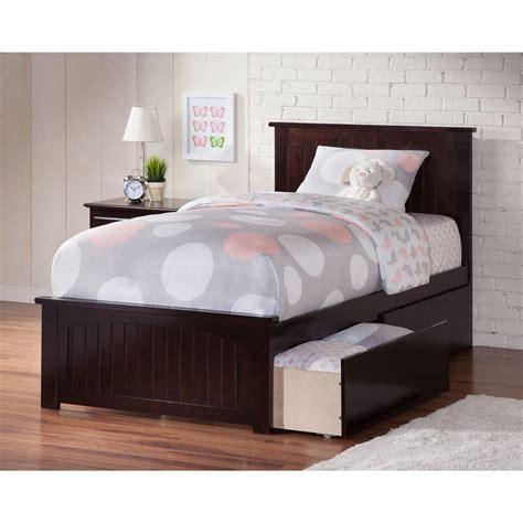 Nantucket Twin XL Wood Bed   Matching Foot Board, 2