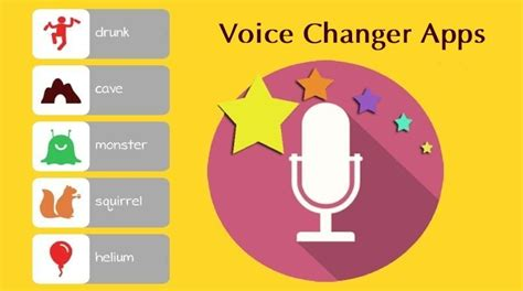 voice app android 5 voice changer apps for android with many voice effects