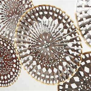 Deco Murale Metal Noir : d co murale en m tal noir ajour et dor 148x78 sofia ~ Dallasstarsshop.com Idées de Décoration