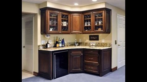 Kitchen Corner Bar Ideas by Two Wall Corner Bar With Cabinetry And Light