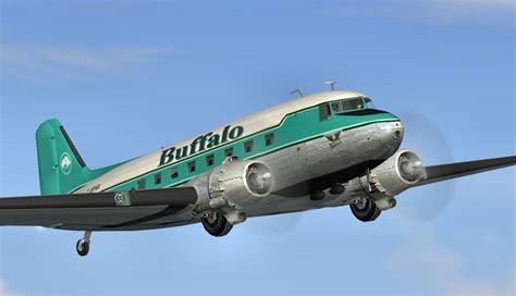 buffalo airways douglas dc 3 c gpnr for fs2004
