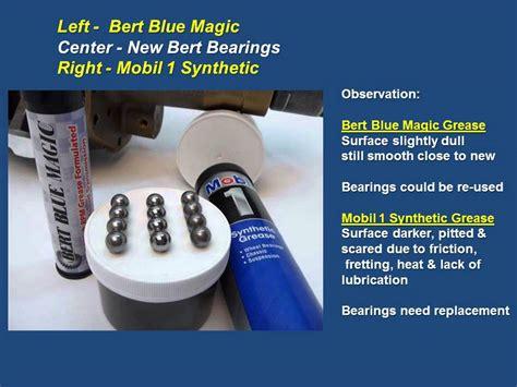 Bert Ball Spline Bearing Test (1year) Grease Comparison