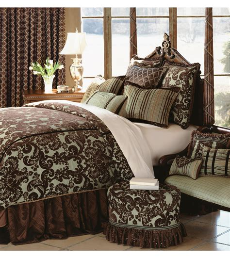 luxury bedding by eastern accents cadbury collection