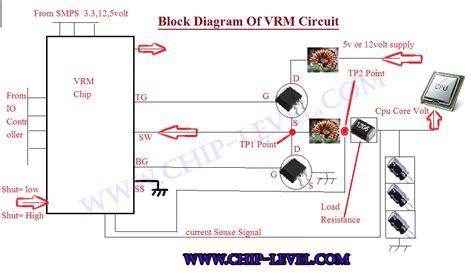 Cpu Power But Motherboard Display Repair Vrm Circuit
