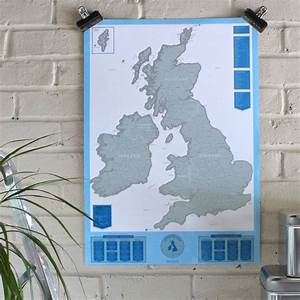 scratch map® uk and ireland by luckies ...