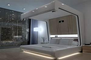 Lit Du Futur : 50 coole ideen f r himmelbetten aus holz im schlafzimmer ~ Melissatoandfro.com Idées de Décoration