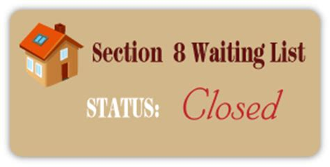 section 8 waiting list status st george housing authority
