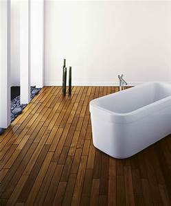 Boden Für Badezimmer : parkett laminat oder vinyl im badezimmer der parkett ~ Michelbontemps.com Haus und Dekorationen