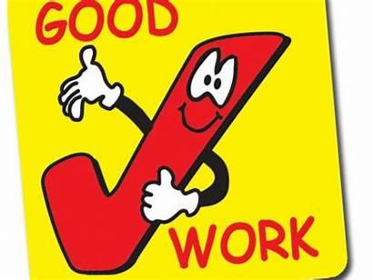 Job Clip Clipart Excellent Cliparts Stickers Done