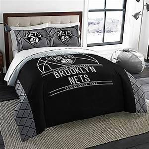 nba brooklyn nets comforter set bed bath beyond With comfort bedding brooklyn ny