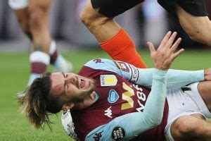 Jack Grealish: Dean Smith calls for referees to protect ...