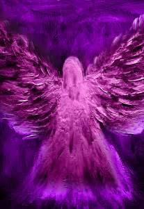 Beautiful Purple Angel