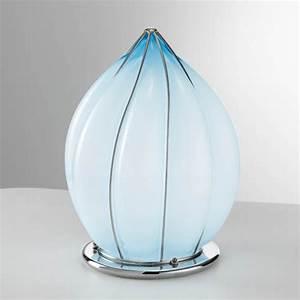 Lampe A Poser Contemporaine : lampe poser en forme de goutte lampe contemporaine en verre souffl de murano disponible en ~ Teatrodelosmanantiales.com Idées de Décoration