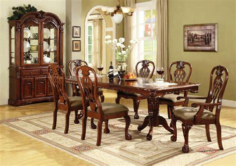brussels formal dining room  piece furniture set