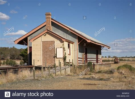 South Wales Sheds by Railway Goods Shed Bungendore Southern New South Wales