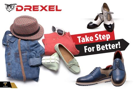 Elegant Cut, Cool Steps... Drexel Shoes Offer More Than