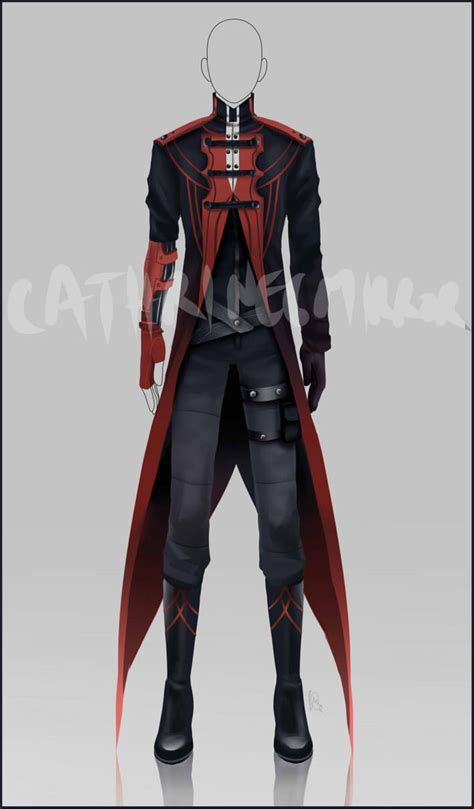 (CLOSED) Adopt Auction -Outfit 2 by cathrine6mirror on DeviantArt