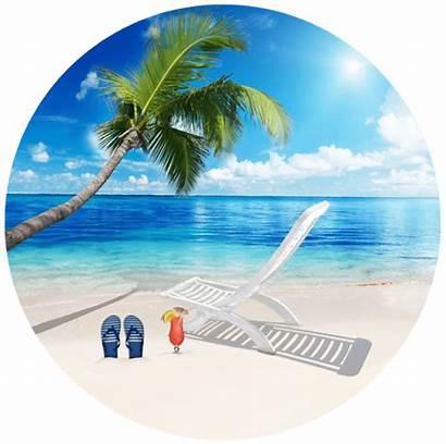 Beach Screen Door Tropical Theme Ocean Magnets