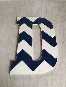 72 best etsy stuff images on pinterest wood letters With navy blue wall letters
