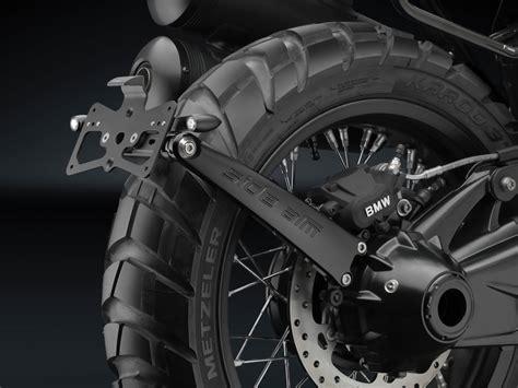 bmw r ninet scrambler rizoma accessory line unveiled