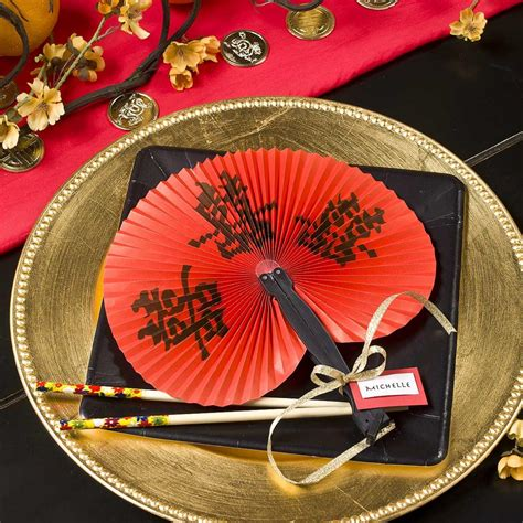Celebrate Chinese New Year With Diy Table Decorating Ideas