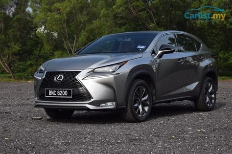 Lexus Nx F Sport Reviews by 2015 Lexus Nx 200t F Sport Review A Japanese Take On The