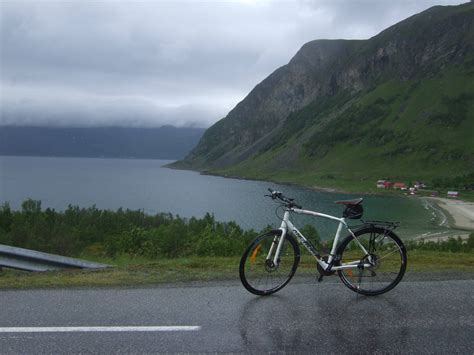 Fjord Tour Tromso by Tromso Tromvik Cycling Tour In Norway Fjords Mountains