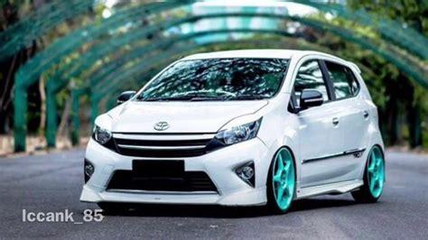 Toyota Agya Trd 2017 Modifikasi by Kumpulan Modifikasi Toyota Agya 2017 Keren