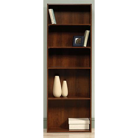 Home Bookcases by Sauder Beginnings Collection 71 In 5 Shelf Bookcase In