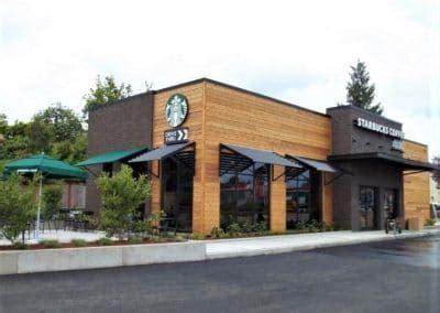 Huxdotter coffee, north bend wa pineapple coconut, coffee, coconut. Starbucks - Multiple Locations   Wilcox Construction