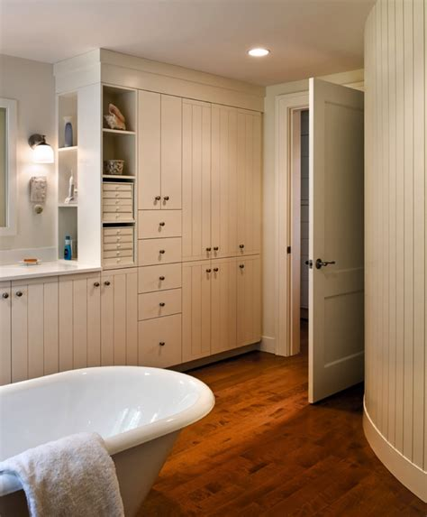 built in bathroom cabinets how custom built ins for bathrooms can help clean up your