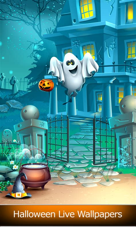Free Halloween Live Wallpapers Free Android Apps Android