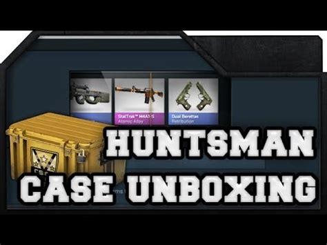 cs go huntsman unboxing