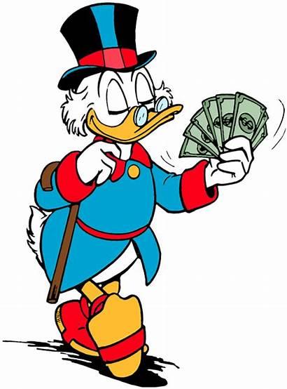 Scrooge Mcduck Clipart Ducktales Disney Dollar Duck